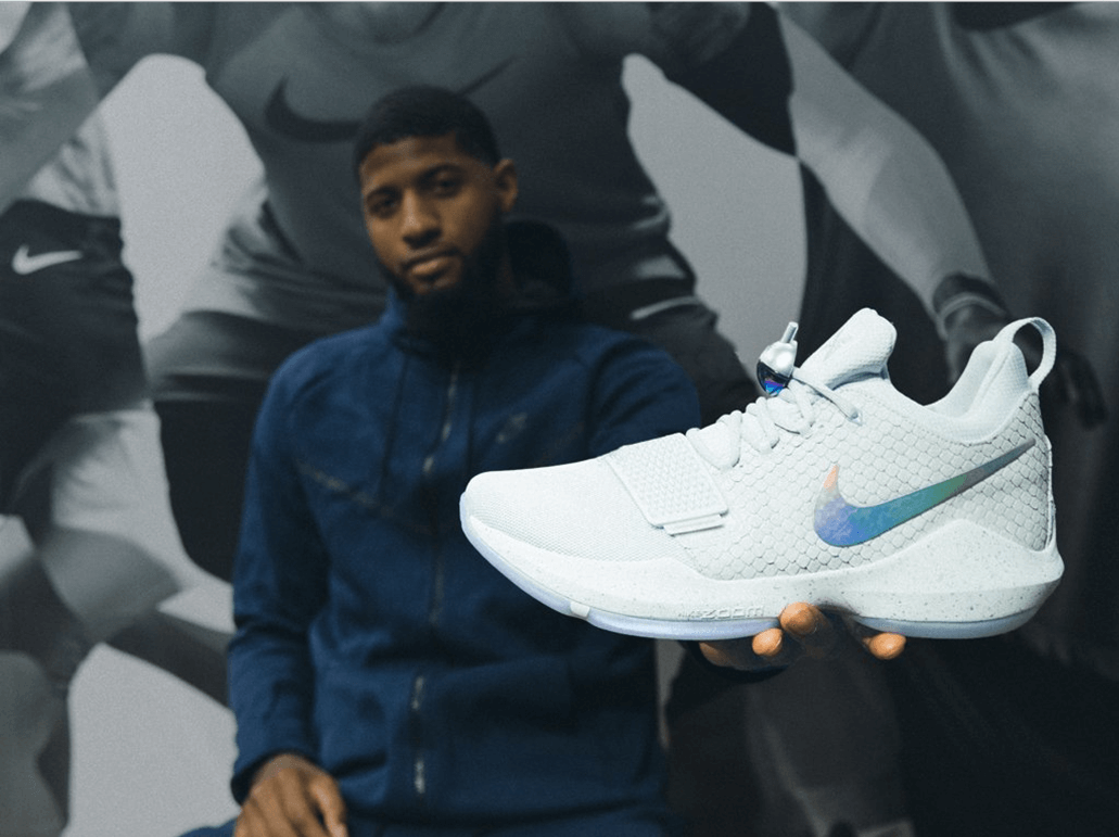 Nike (NKE) Curbs Competitor Momentum With Paul George Signature Shoe |  Benzinga