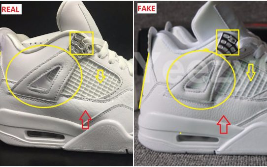 Quick Tips To Bust The Fake Air Jordan 4 Pure Money . 205107171