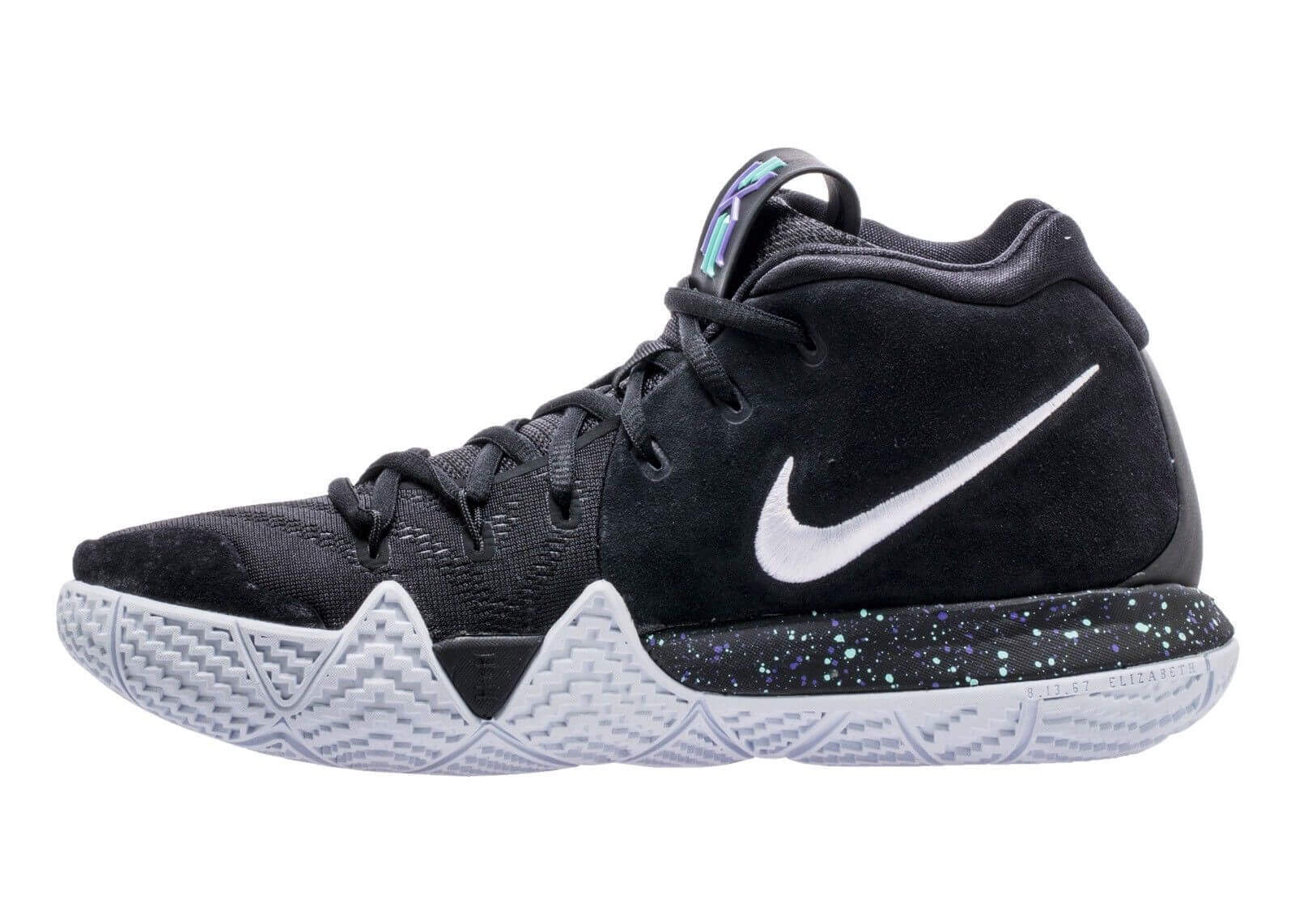 Kyrie Irving Shoes Black And White