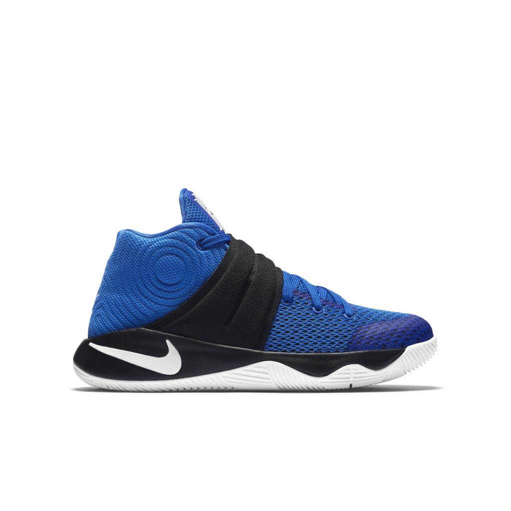 the best attitude 8f148 c64fc Nike Kyrie 2 GS (Brotherhood-Duke Blue Devils) Hyper Cobalt Mtllc Silver-Blk