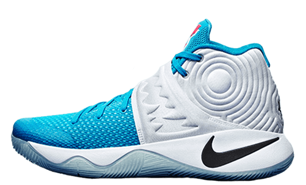 promo code 92ac4 3838a Nike Kyrie 2 GS (XMAS) White Obsidian-Bl Lgn-Omg Bl