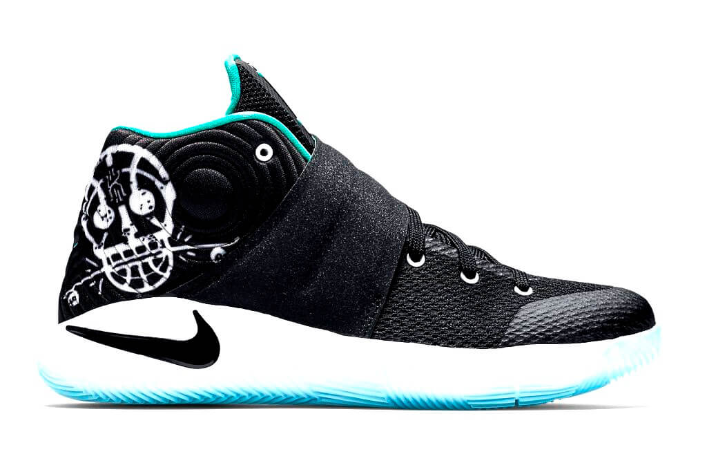 new product cf11d f0025 ... usa nike kyrie 2 gs court deck black black hyper jade white d6dc0 46647