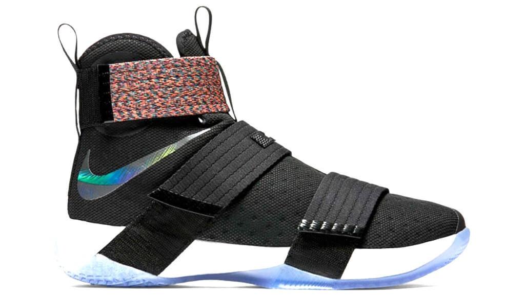 reputable site d1445 33389 Nike Lebron Soldier X (Multicolor) Black/Black-Csmc Prpl ...