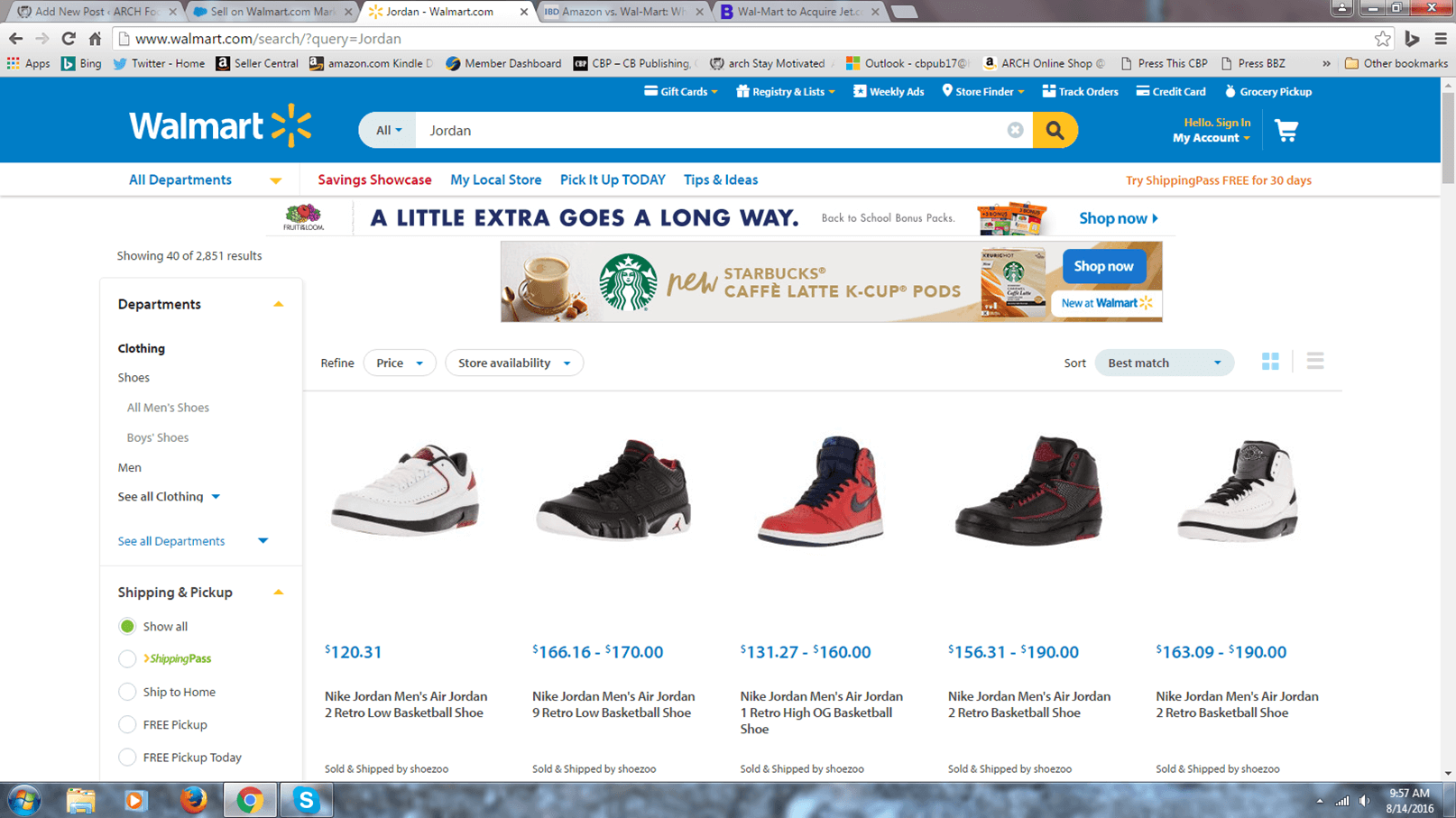 Insider Ties  Wal Mart and… Jordans  – ARCH-USA ff137bb14
