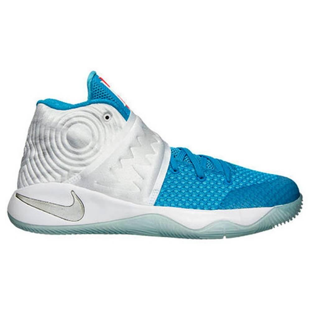 Nike Kyrie 2 GS (XMAS) White/Obsidian-Bl Lgn-Omg Bl – ARCH-USA