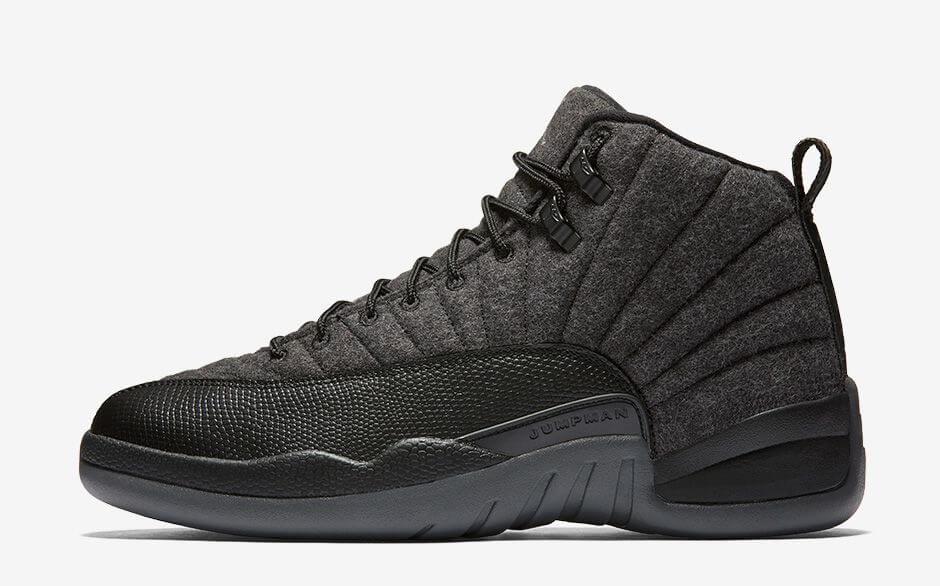 Air Jordan 12 Retro Wool Dark Grey Black Should You Buy To Flip