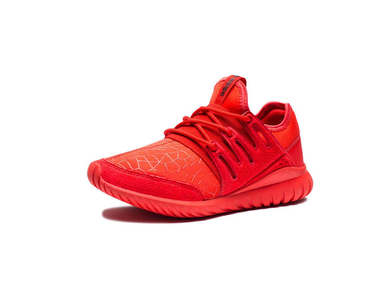 Adidas Tubular Radial J (S81920) Red