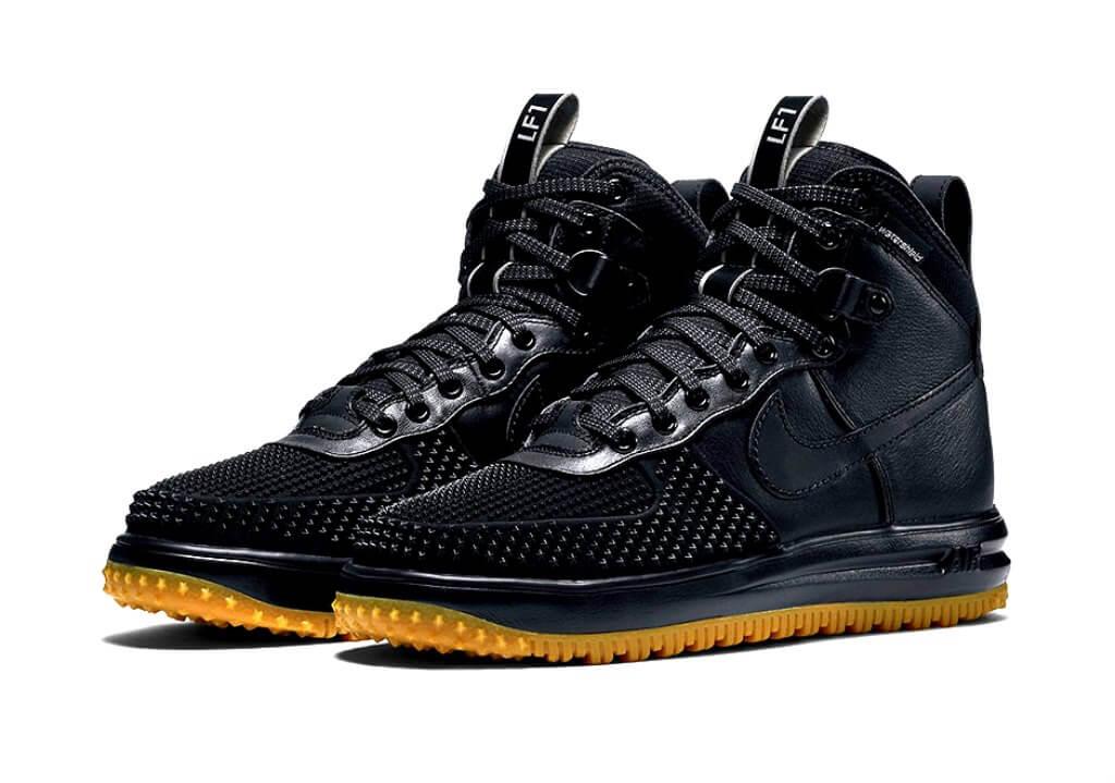 Nike Lunar Force 1 Duckboot (Black/Gum