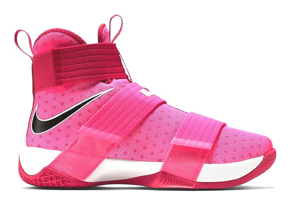 info for ff4af ea279 Nike Lebron Soldier X GS (Think Pink) Pink Blast/Black-Vivid ...