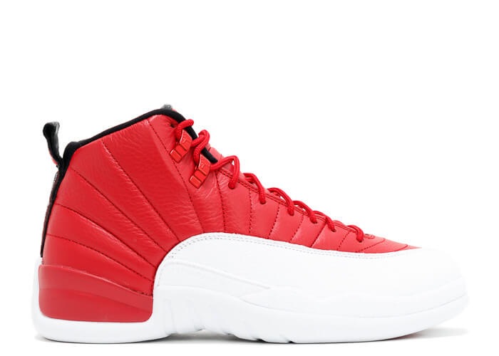 Air Jordan 12 Retro BG (Gym Red/White