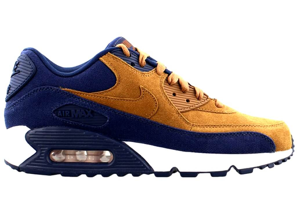 nike air max 90 brown blue