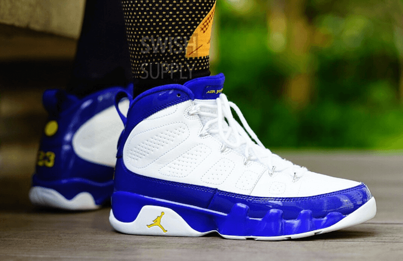 Air Jordan 9 Kobe Bryant Lakers PE Shoes