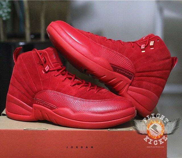 best service 24a84 fa3e9 A Quick Look At the 2017 Air Jordan 12 Retro Suede Red ...