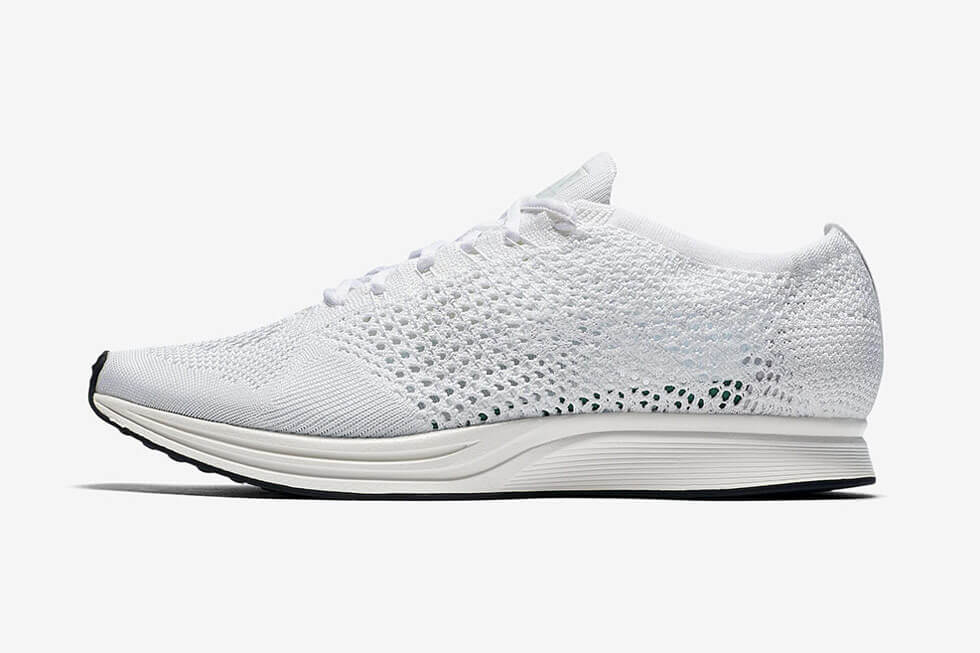 Coming Soon  The Triple White Nike Flyknit Racer For 2017 – ARCH-USA bd64d3e78