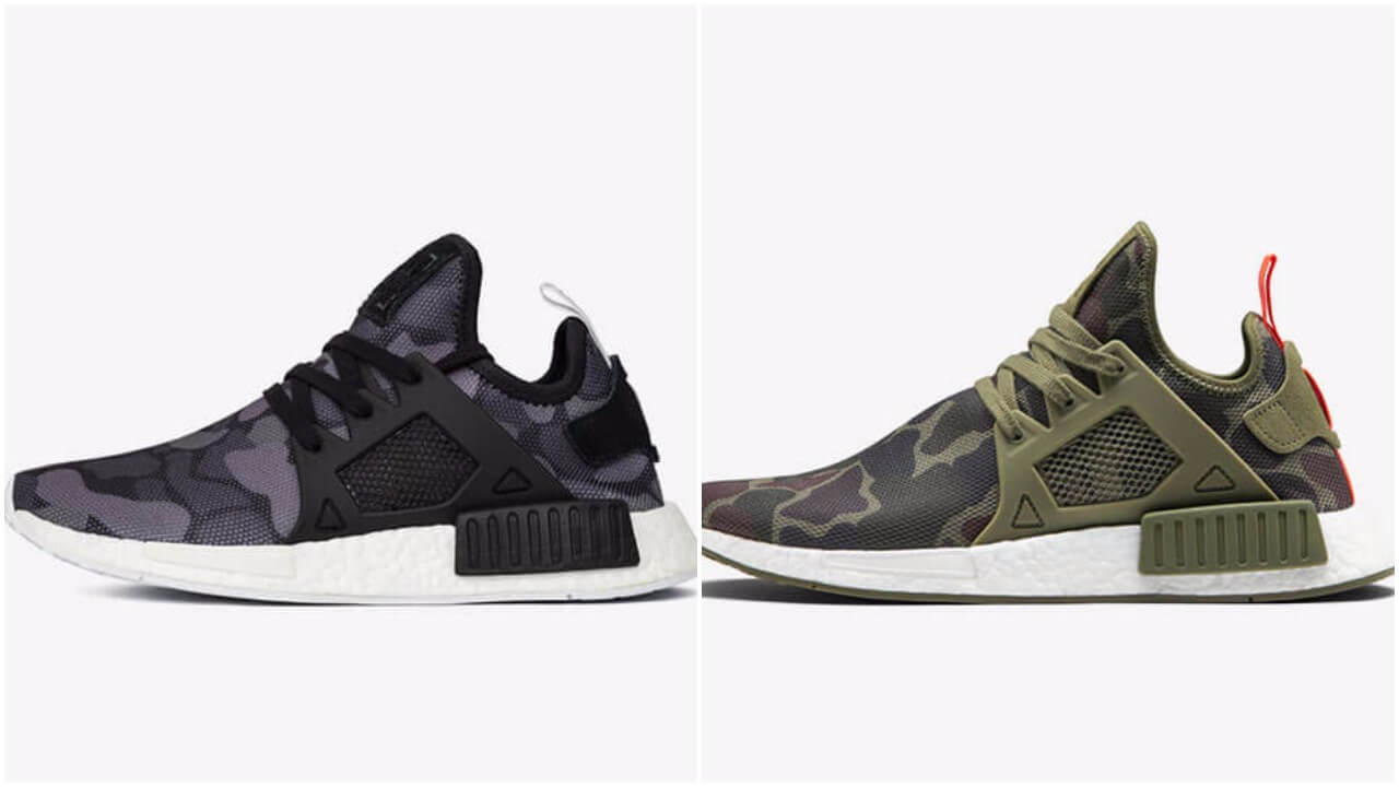 The Adidas NMD XR1 Duck Camo Pack Is Available Now