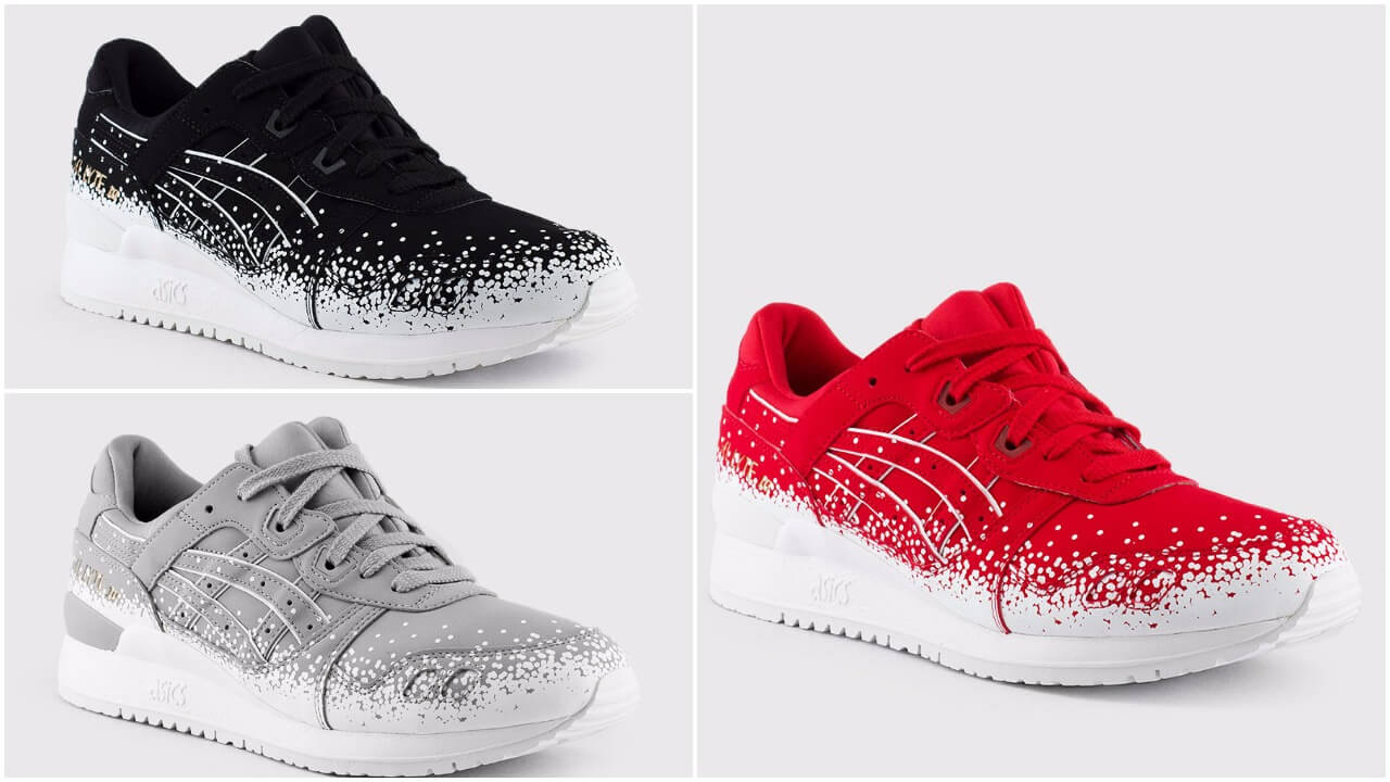 c0f670d5abb21 The Asics Gel Lyte III SnowFlake Pack Just Dropped – ARCH-USA