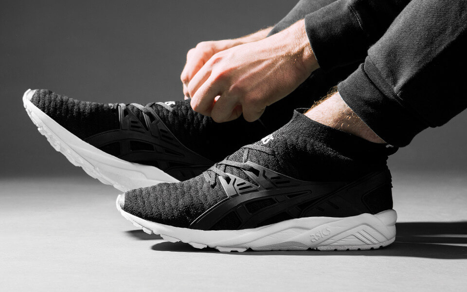 ASICS Running Gel Kayano TRAINER Knit MT Black Black
