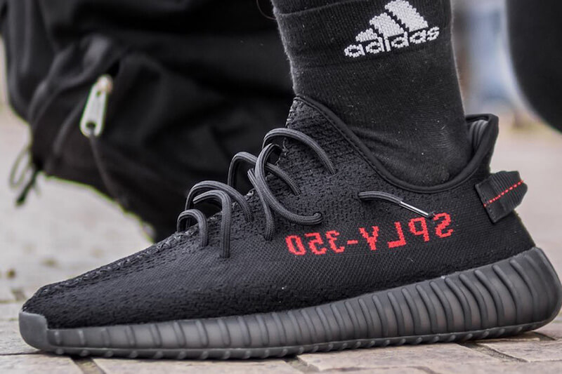 810c73875b86f ... where to buy adidas yeezy boost 350 v2 cp9652 black red 1 86b68 2a3c1