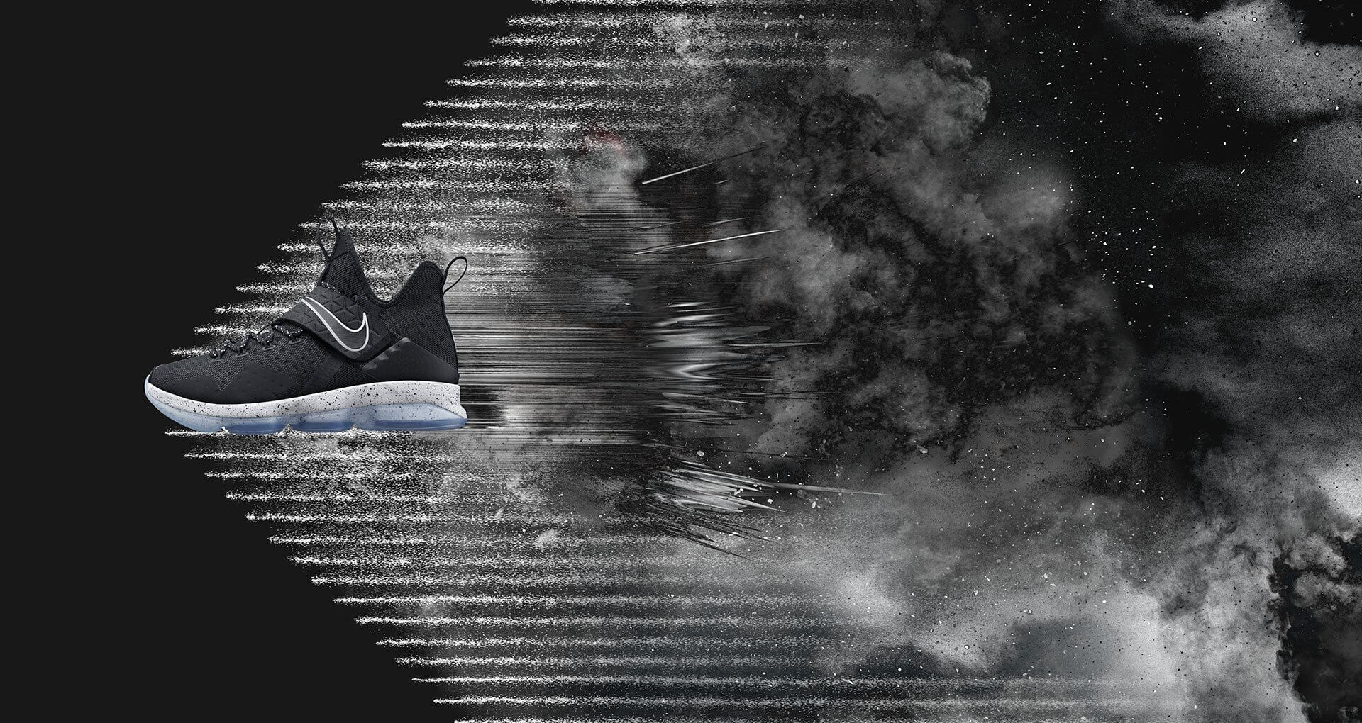 8a8f497b47b ... italy up close with the nike lebron 14 chase down black ice arch usa  77a41 4ee92