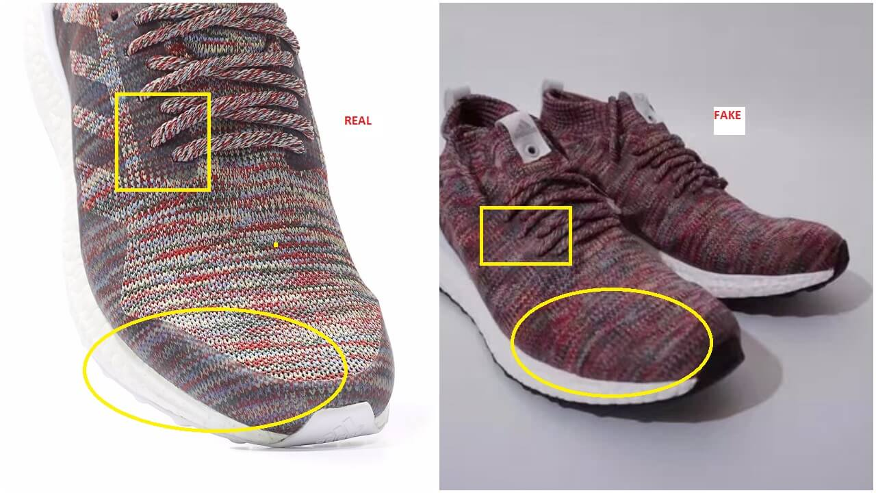 save off a7d4c 9e3de Real VS Fake Adidas Ultra Boost Mid Ronnie Fieg – ARCH-USA