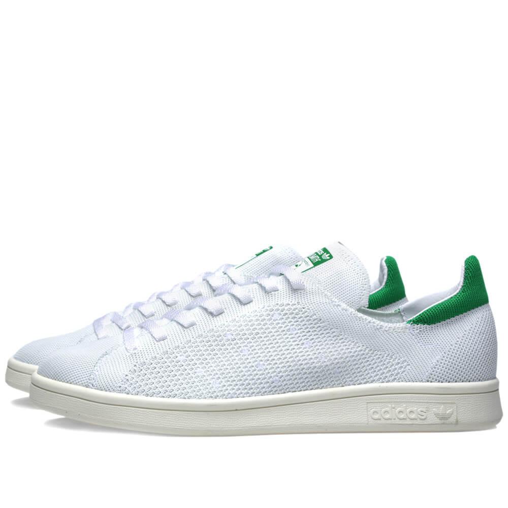 da6fadac766 adidas Originals Stan Smith OG Primeknit (White Green) – ARCH-USA