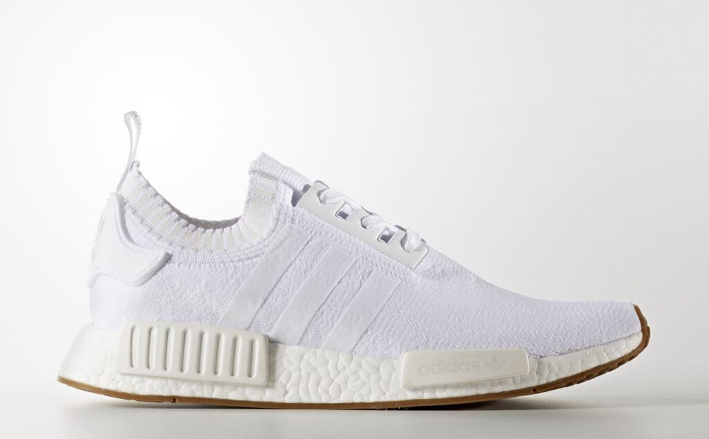 fbceb6a9ad01 Adidas NMD R1 Primeknit (Color Running White Ftw   Running White Ftw ...