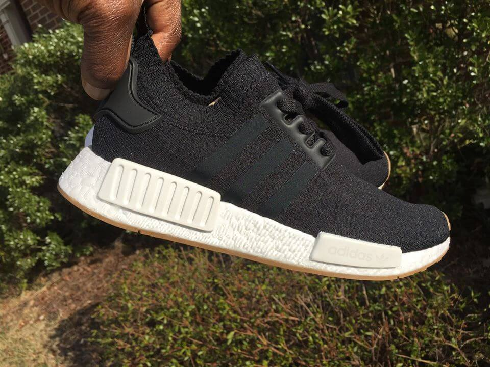 official photos 675ee c2166 A Closer Look At The Black Adidas NMD R1 PK Gum Pack BY1887