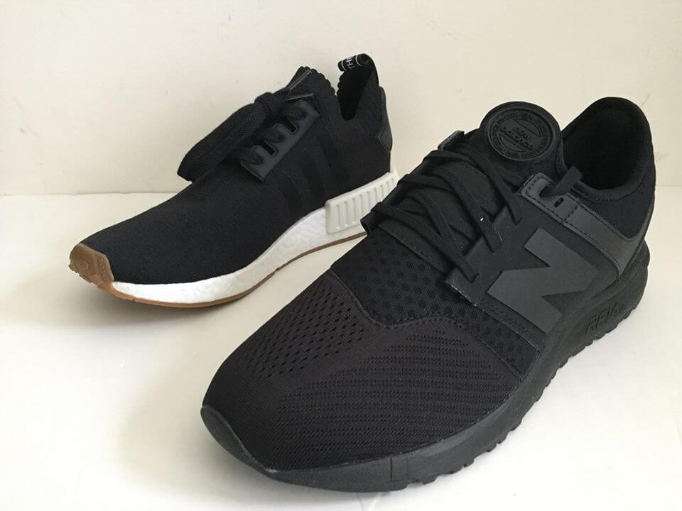 bca960a73 Black Adidas NMD R1 PK Gum Pack BY1887 4 – ARCH-USA