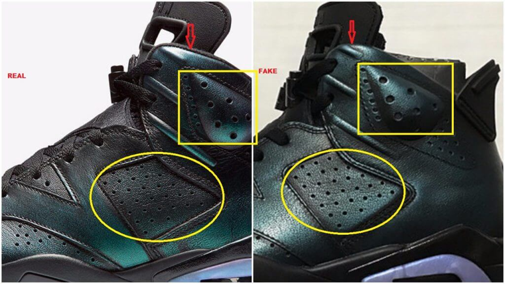 8efa3696aca0f2 Watch Out For The Fake Air Jordan 6 All Star ASW Chameleon – ARCH-USA