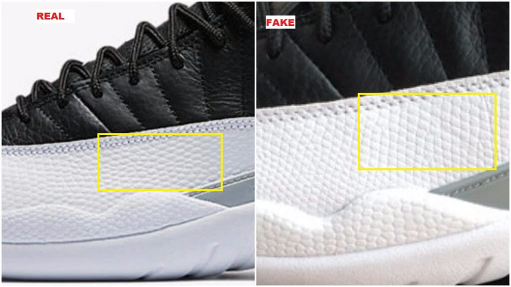These Fake Air Jordan 12 Low Playoff Weren t Easy To Identify- Find Out Why 225b7bc34