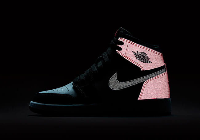 5bc7bf901b9 The GS Air Jordan 1 Retro Valentines Day Has 3M Reflective Features –  ARCH-USA