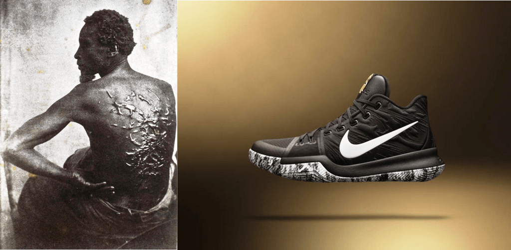 cd8759d0cb96 ... cheap nike and jordan brand unveil the 2017 bhm collection kyrie 3  features whip scars arch