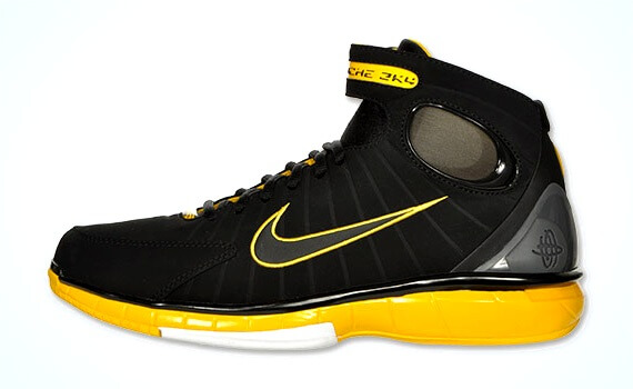 buy online bd1fa c6301 Nike Air Zoom Huarache 2K4 (Black/Maize) – ARCH-USA