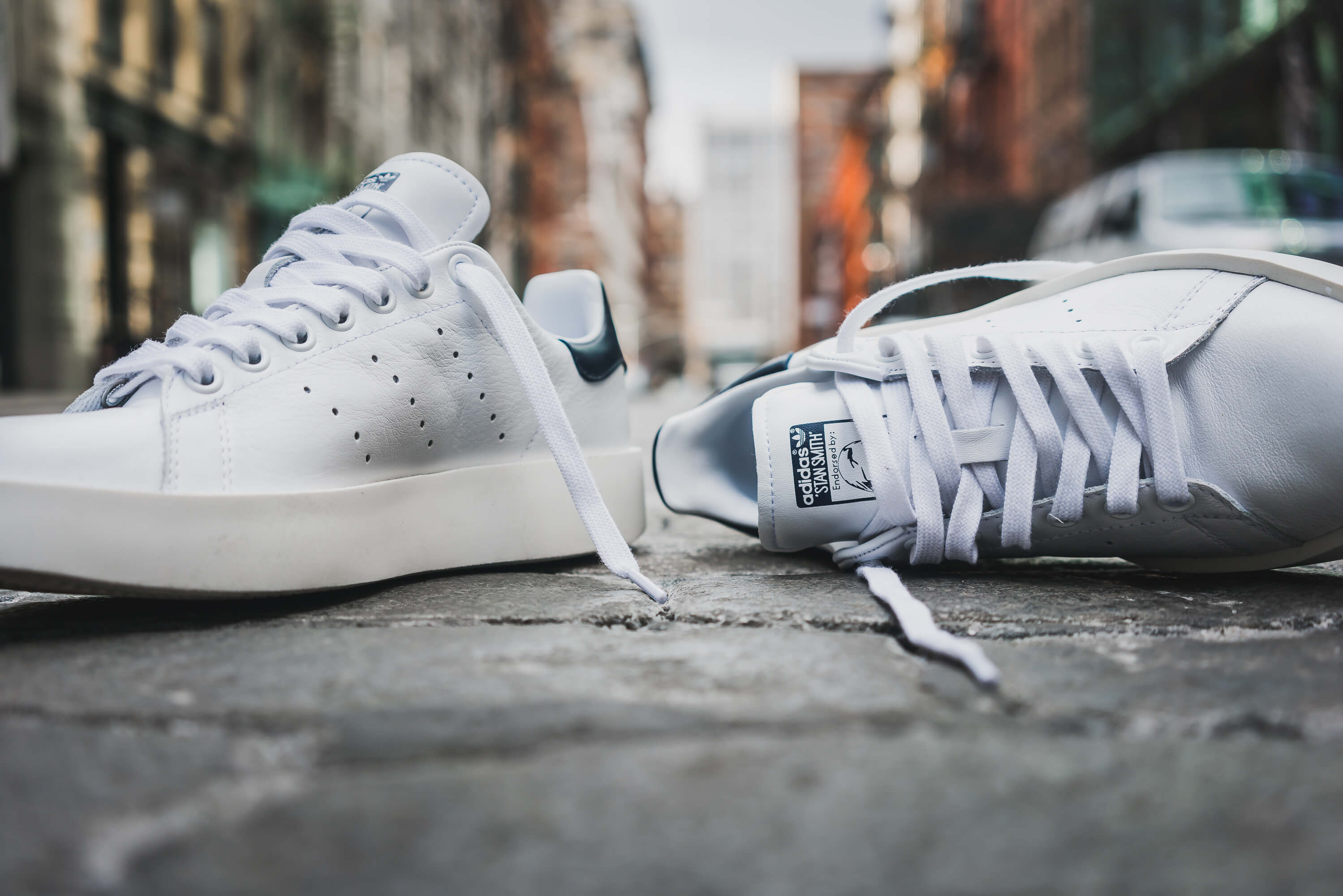 buy popular eb4ae 467bf adidas Originals WMNS Stan Smith Bold is a Shot at the Puma ...