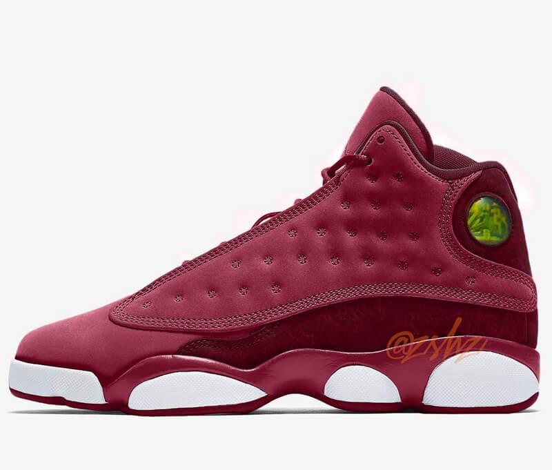 The Air Jordan 13 Heiress Velvet