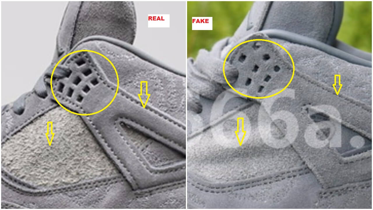promo code ad8d7 91a97 The Fake Air Jordan 4 Kaws Have Emerged | Quick Tips To ...