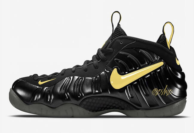 Finally A Pair Of Foams I Like: The Nike Air Foamposite Pro Black Metallic  Gold