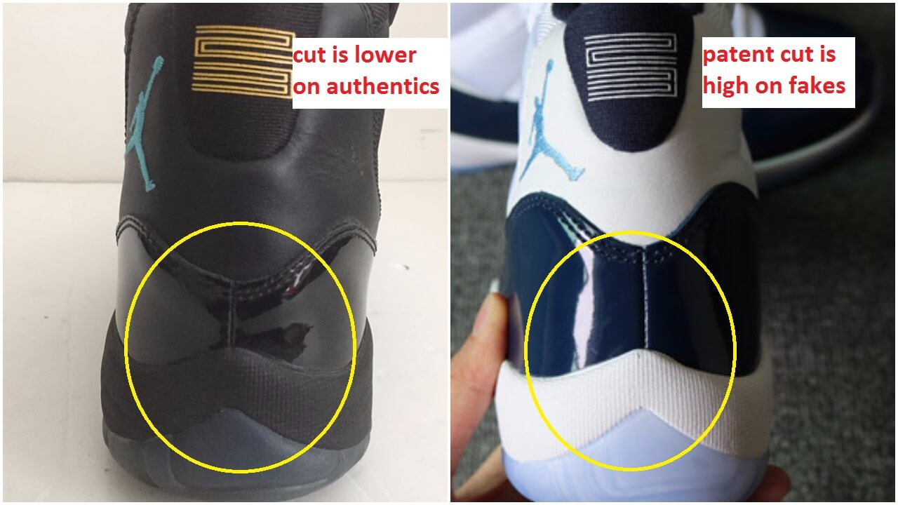 Fake Pairs Of The Air Jordan 11 White Navy Are Out Beware