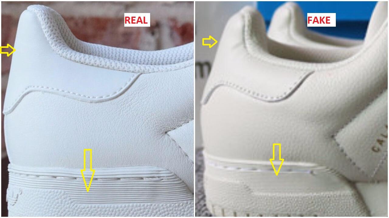 Fake Adidas Shoe Tag