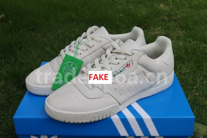 Fake Adidas Yeezy Powerphase Calabasas With Forged StockX Tag: Good News And Bad News