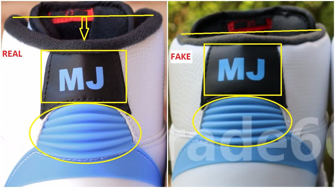 Fake Air Jordan 2 UNC Converse Pack Spotted -Quick Tips To Identify Them c7599d8f3