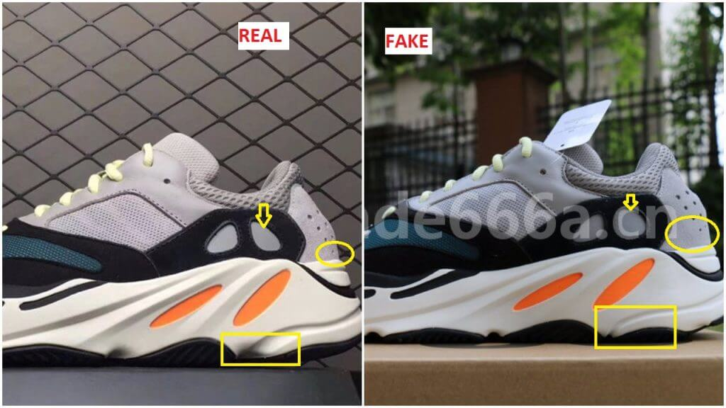 official photos 014d2 f1aea Fake Adidas Yeezy Wave Runner 700 Are Out- Here Is How To ...