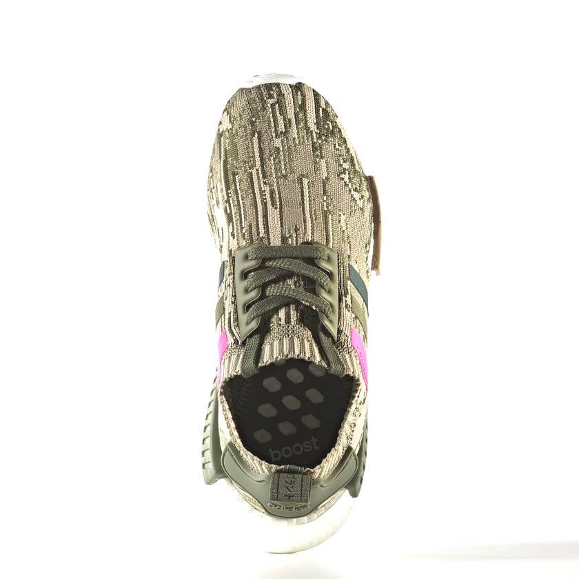 Adidas nmd r1 primeknit by9864 st maggiore / shock (donna rosa