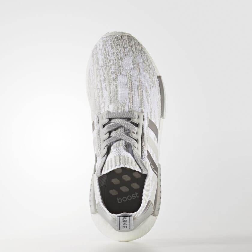 adidas NMD R1 Primeknit BY9865 Grey   Grey   Grey (Women s) – ARCH-USA 2fc22680fd