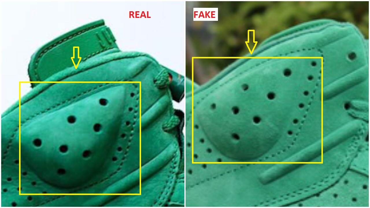 hot sale online b3acc b3b10 Fake Air Jordan 6 Gatorade Green Suede Spotted-Quick Tips To ...