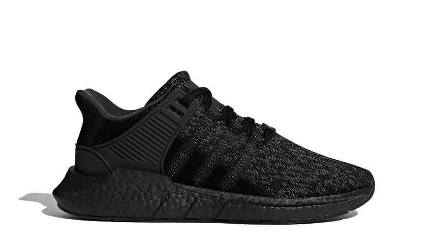 the latest 2bcb5 47c75 Adidas EQT Support ADV 93/17 Boost (Core Black / Core Black ...