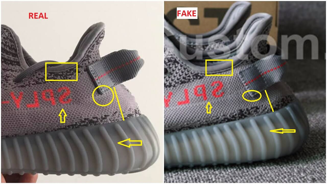 Real Vs Fake Adidas Yeezy 350 V2 Beluga 2.0, Quick Tips To Identify The  Replicas