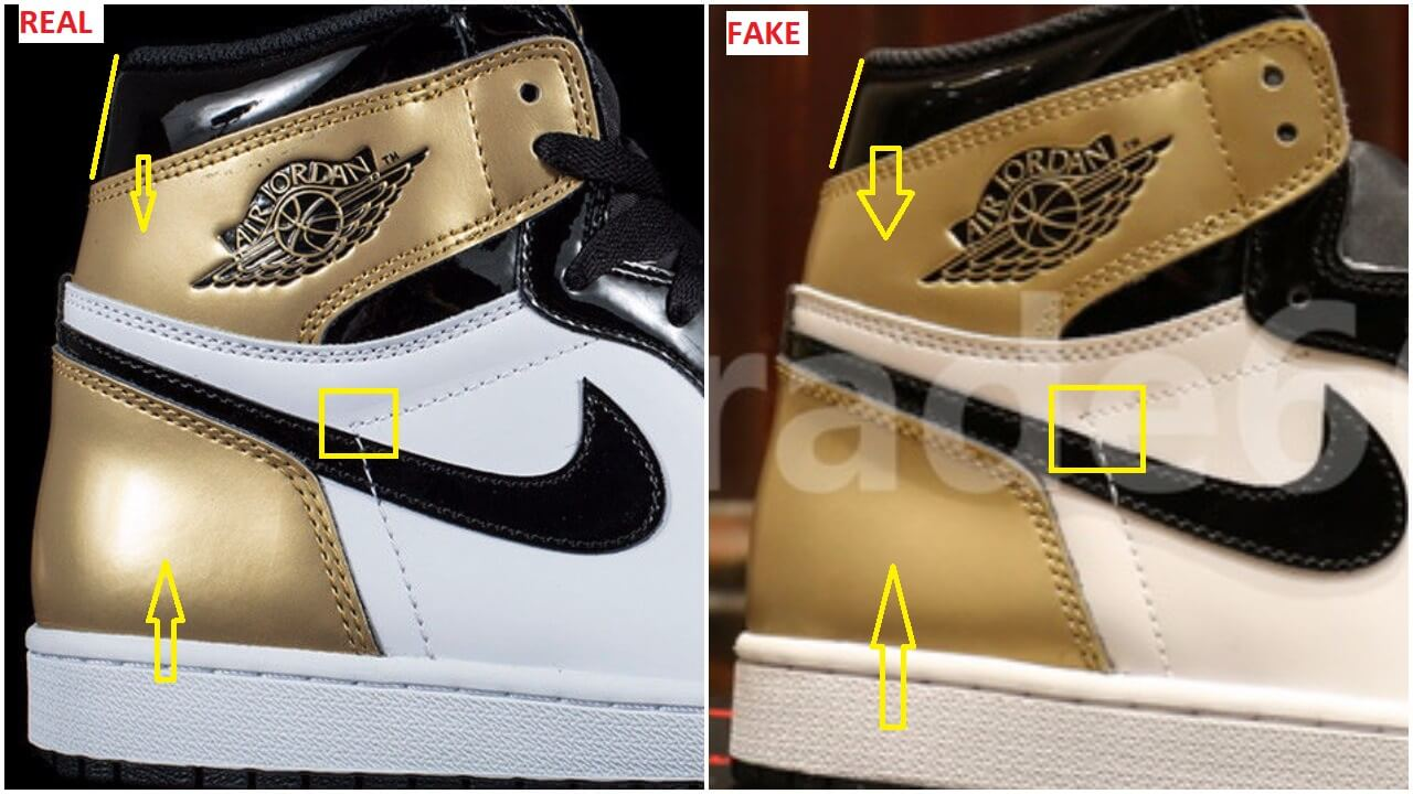 newest 307a4 ca93d Fake-Air-Jordan-1-Retro-High-Gold-Top-3-Union-LA-Complex-Con ...