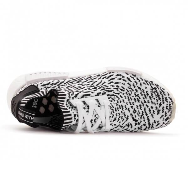 Adidas NMD R1 PK Primeknit Sashiko Zebra Core Black White BZ0219