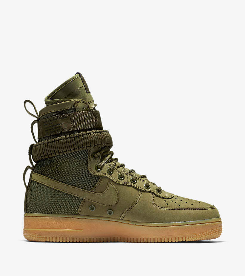 the best attitude f84be 4ae27 The Top 40 Sneakers of 2017  19 Nike SF Air Force 1 Urban Utility –  ARCH-USA